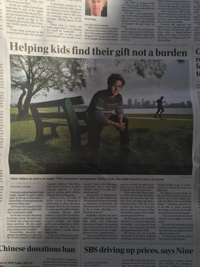 Gifted Ed - The Australian 21st July.jpg
