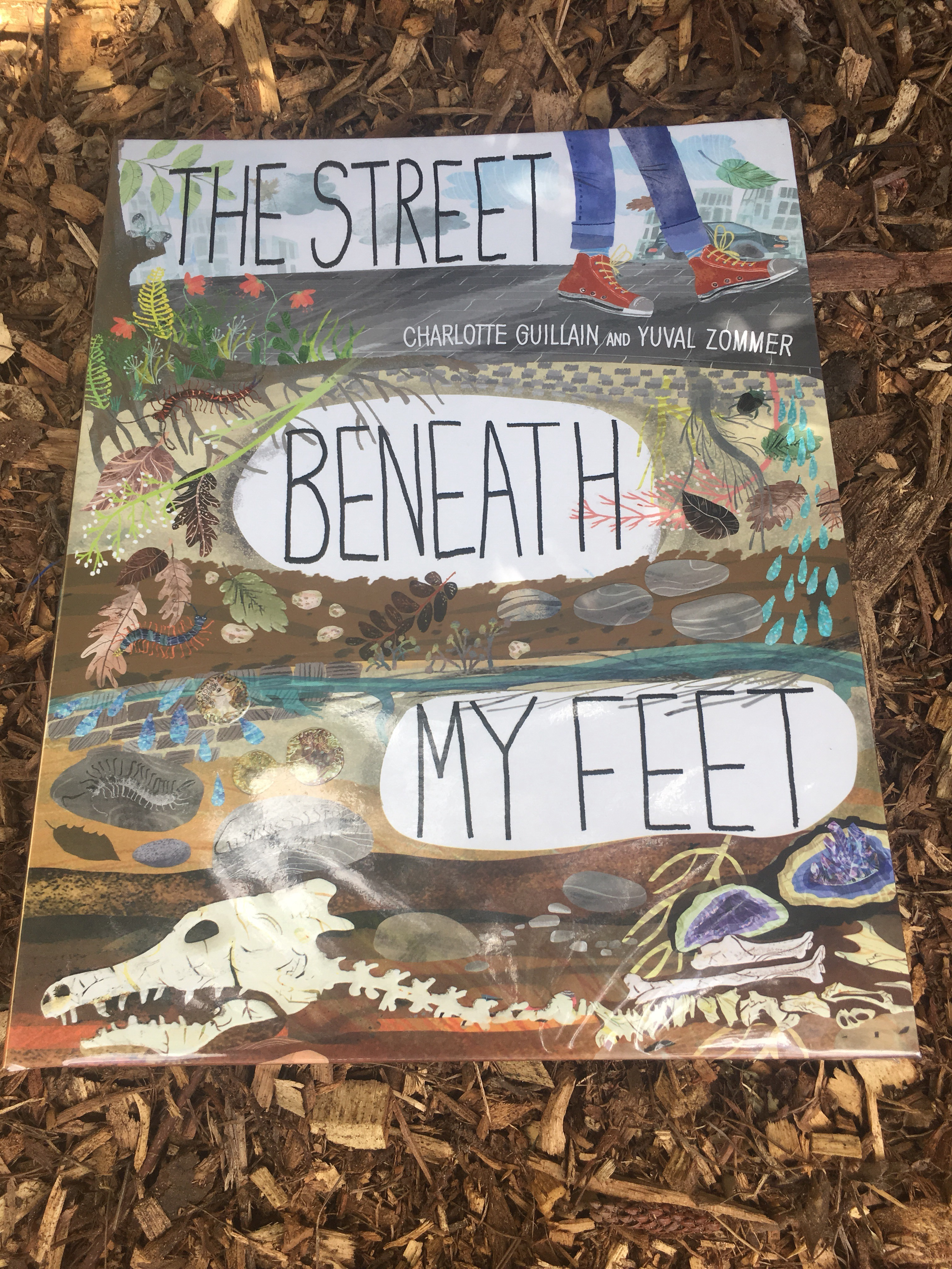 The street beneath my feet by charlotte guillain and yuval for Soil 2017 book