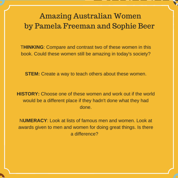 Amazing australian women by pamela freeman and sophie beer