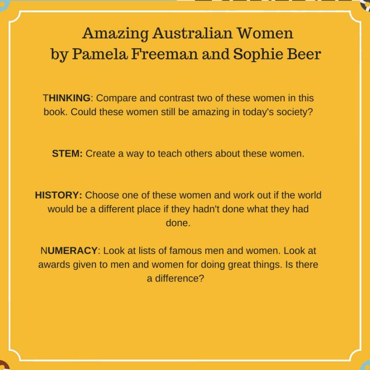 Amazing australian women by pamela freeman and sophie beer