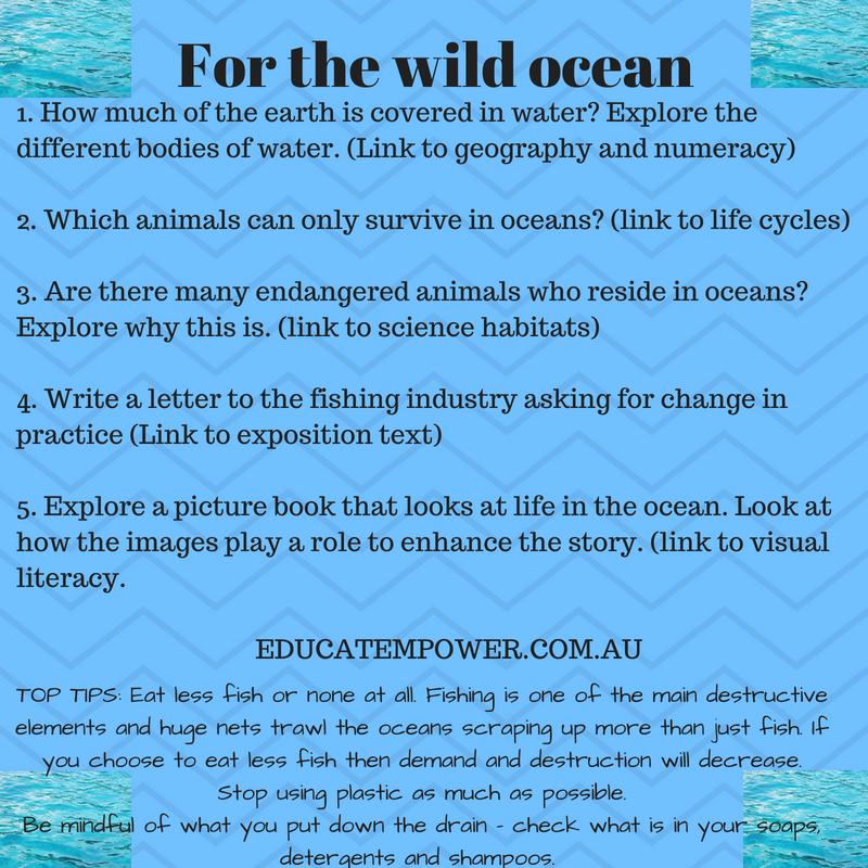 For the wild ocean
